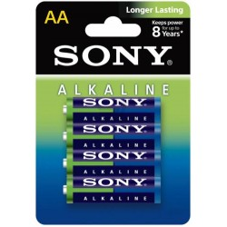 Батарейка алкалиновая Sony AA