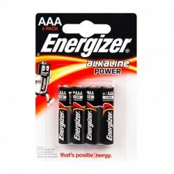 Батарейка алкалиновая Energizer AAA/LR03 4 шт/упак