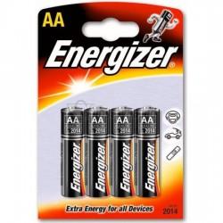 Батарейка алкалиновая Energizer AA/LR6 4 шт/упак