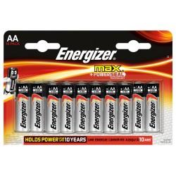 Батарейка алкалиновая Energizer MAX AA/LR6 10шт/упак