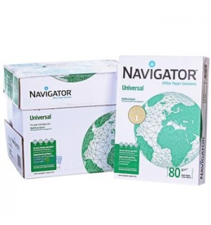 Бумага Navigator Universal А4, 80 г.м2, 500л. А класс