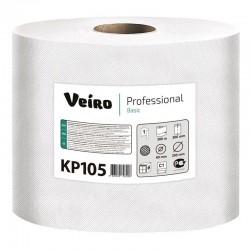 Бумажные полотенца Veiro Professional Basic с центральной вытяжкой