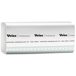Бумажные полотенца V-сложение Veiro Professional Basic