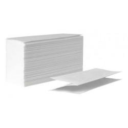 Бумажные полотенца ZZ-сложения белые 250 лист/уп
