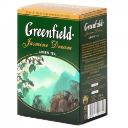 "Чай зеленый """"Greenfield"""" Jasmin Dream 100 гр"