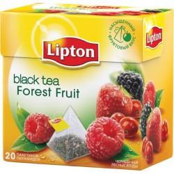 Чай черный Lipton FOREST FRUIT 20 пакетиков