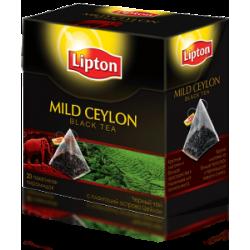 Чай черный Lipton  Mild Ceylon 20 пакетиков