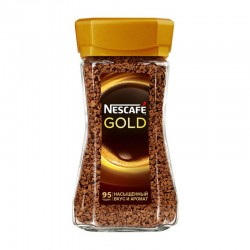Кофе растворимый сублимированный NESCAFE Gold 190 гр