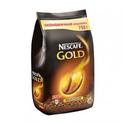 Кофе растворимый сублимированный NESCAFE Gold 750 гр