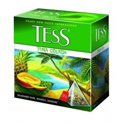 """Чай зеленый """"Tess"""" Pina Colada 20 пак"""