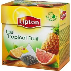 Чай черный Lipton Tropical Fruit 20 пакетиков