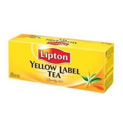 """Чай черный """"Lipton"""" Yellow label 25 пакетиков"""