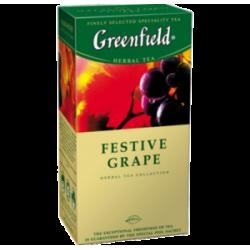 """Чай """"Greenfield"""" Festive Grape 25 пак"""