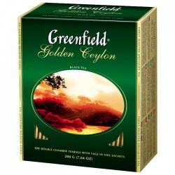 """Чай черный """"Greenfield"""" Golden Ceylon 25 пак"""
