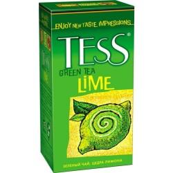 """Чай зеленый """"Tess"""" Lime 25 пак"""