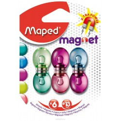 "Набор магнитов ""Magnet"" Maped 6 шт/уп"