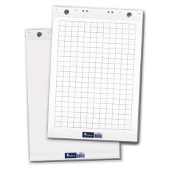 Блок бумажный для флипчартов Forpus, 60×85 см, 20 л., белый клетка FO70202