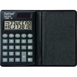 Калькулятор карманный Rebell SHC200N 8 разр.