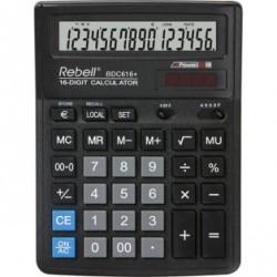 Калькулятор Rebell BDC 616+ 16 разр., двойное питание