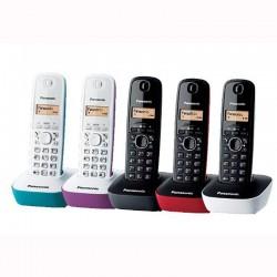 Беспроводной телефон PANASONIC KX-TG1611RUR ассорти