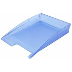 Лоток горизонтальный «Эсир» прозрачно-голубой