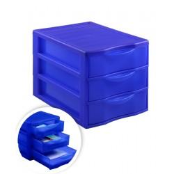 Блок сборный с выдвижными лотками 3 отделения