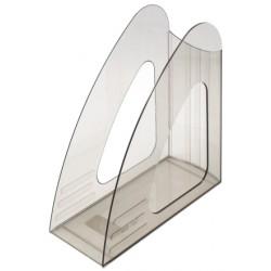 Лоток вертикальный прозрачный дымчатый