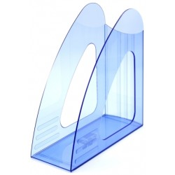 Лоток вертикальный прозрачно-синий