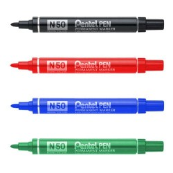 Маркер перманентный N50 Pentel