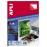 Наклейки А4 100л 105*35 (16 делений) FORPUS