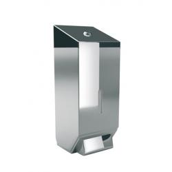 Дозатор жидкого мыла металлический 0.8 л