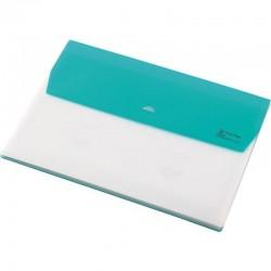 Папка-конверт на кнопке с 5 делениями А4
