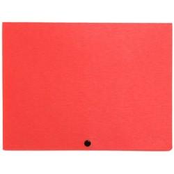 Папка-конверт пластиковая на кнопке Dune ассорти Forpus