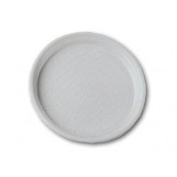 Тарелка одноразовая 165 мм белая