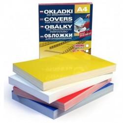 Обложка картонная глянцевая 250 г/м 100 шт ассорти
