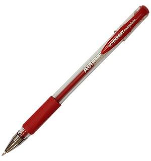 Ручка гелевая красная