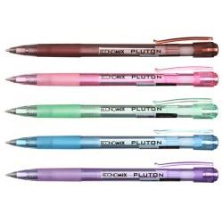 """Ручка шариковая автоматическая """"PLUTON"""" синяя"""