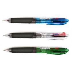Ручка шариковая автоматическая Vision 3-х цветная