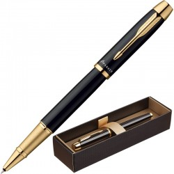 Ручка-роллер Parker IM Metal T221, Black GT S0856360