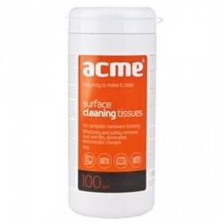 Салфетки чистящие для оргтехники Acme