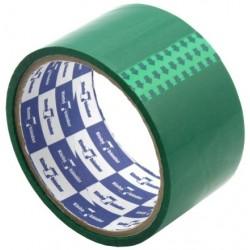 Скотч упаковочный 50ммх57мх40 мкн зеленый