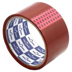 Скотч упаковочный 50ммх57мх40 мкн красный