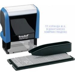 Самонаборный трехстрочный штамп 4911DB Trodat