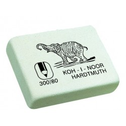 """Ластик (стирка) """"Elephant"""" 25*18 мм белый KOH-I-NOOR"""