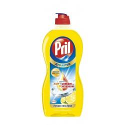 Средство для мытья посуды Pril Дуо Актив Лимон 450 мл